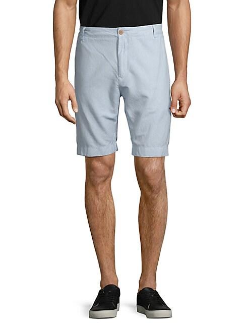 FAHERTY BRAND | Linen & Cotton Shorts | Goxip