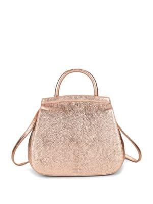 Steven Alan Kate Convertible Metallic Leather Backpack
