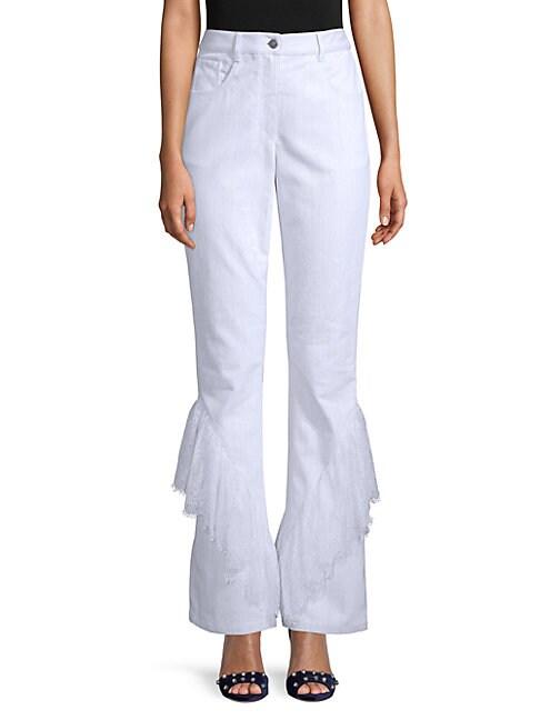 Palmira Ruffled Lace Pants