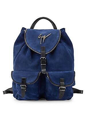 cba404d55784e Giuseppe Zanotti - Drawstring Leather Backpack - saksoff5th.com