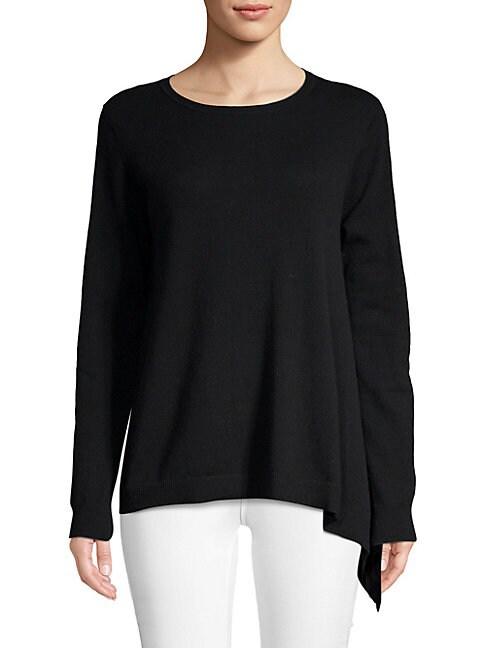 AUTUMN CASHMERE | Asymmetrical Cashmere Sweater | Goxip