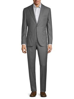 Esprit Classic Wool Suit in Light Grey