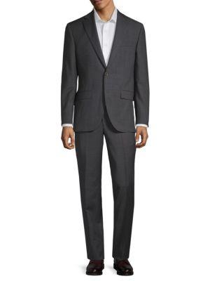 Esprit Classic Wool Suit in Dark Grey