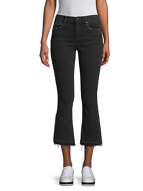 DRIFTWOOD   Rox Wide-Leg Cropped Jeans   Goxip