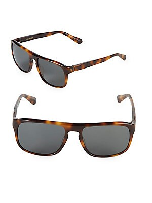 Cain 56MM Square Sunglasses