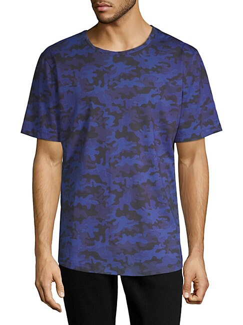 Printed Short-Sleeve Cotton Tee
