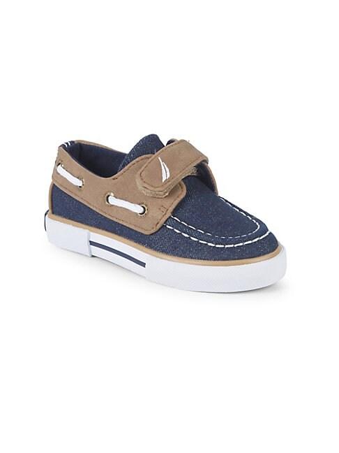 Kid's Denim Boat Shoes