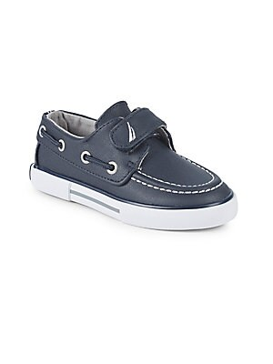 ba0d990876aa Nautica - Kid s Little River Leather Boat Shoes