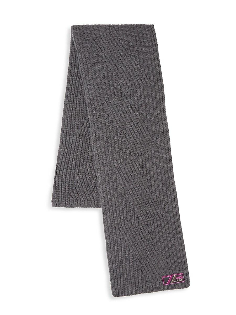 Men's Wool Knit Scarf