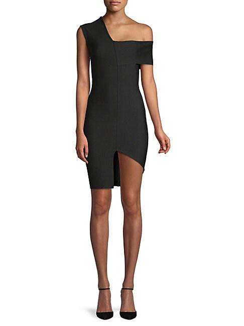 FEW MODA | Asymmetrical Bodycon Dress | Goxip