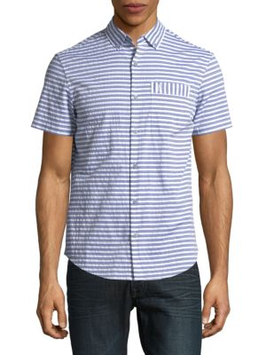 Original Penguin  Yarndye Digital Dobby Stripe Shirt