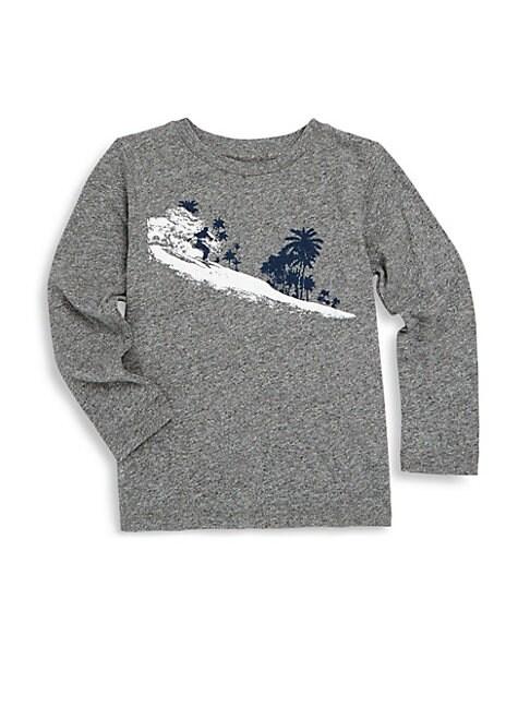Little Boy's & Boy's Palm Graphic Sweater