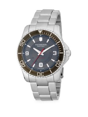 Victorinox Swiss Army Stainless Steel Bracelet Watch