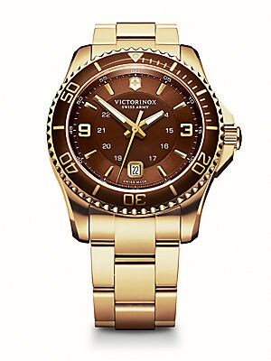MAVERICK GS STAINLESS STEEL WATCH