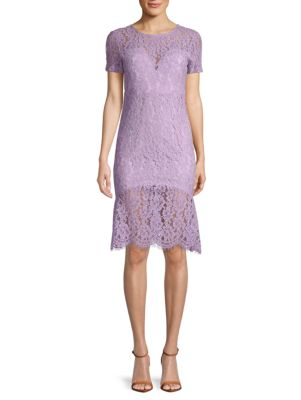 Few Moda Fishtail Lace Bodycon Dress