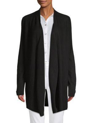 Saks Fifth Avenue Drape Front Cardigan