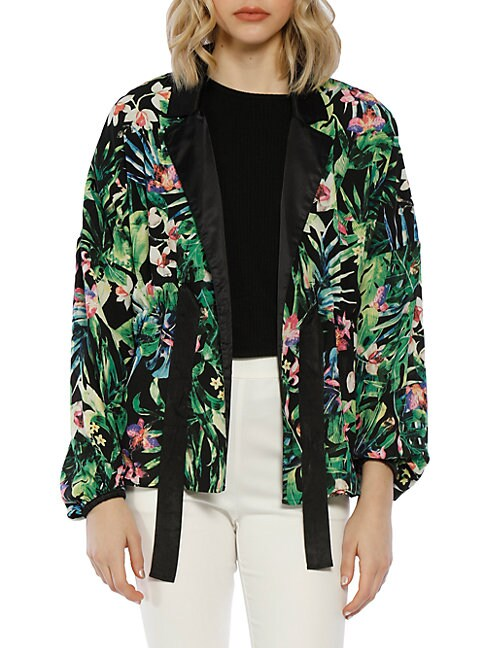 Tropical Floral Jacket
