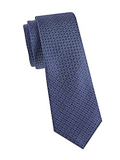 Ties On Sale, Midnight Blue, Wool, 2017, one size Valentino