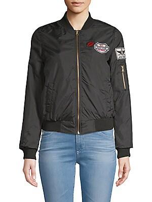 Full-Zip Bomber Jacket