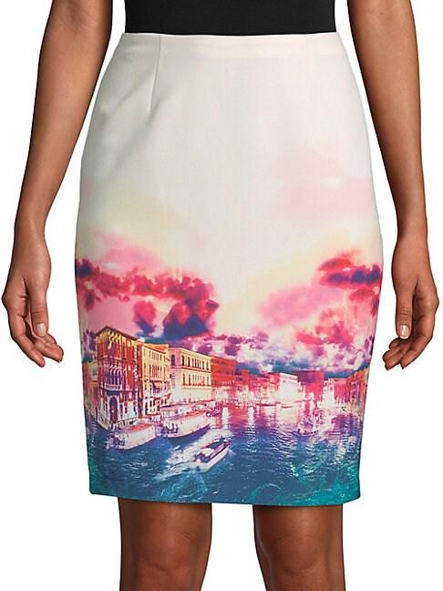 Berenice Printed Skirt