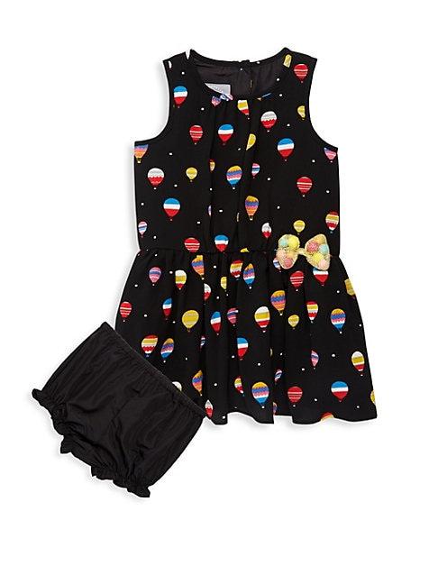 Baby Girls Hot Air Baloon Dress and Bloomer