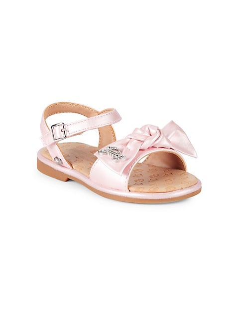 Baby Girls  Little Girls Knotted Bow Sandals