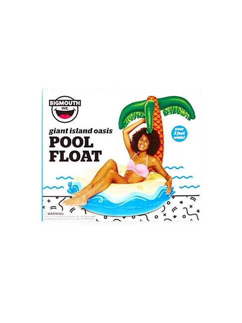 Giant Island Oasis Pool Float