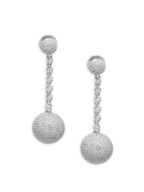LAFONN | Sterling Silver Drop Earrings | Goxip