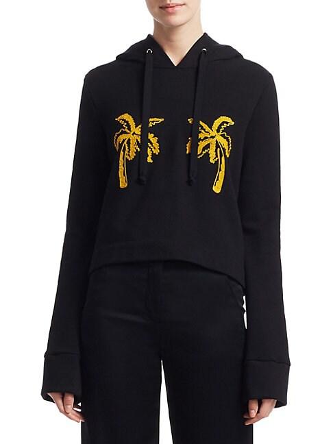 Valerie Palm Tree Sweatshirt