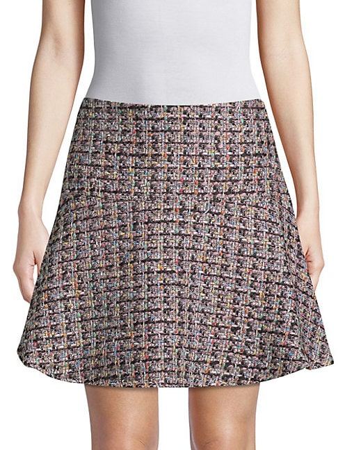 Tweed Flared Skirt