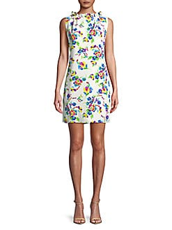 a62283ff5902 QUICK VIEW. Karl Lagerfeld Paris. Floral Ruffled Dress