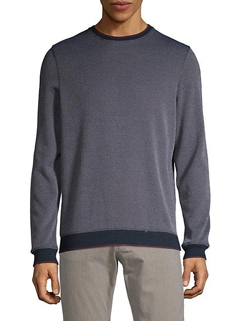 Jacquard Knit Pullover