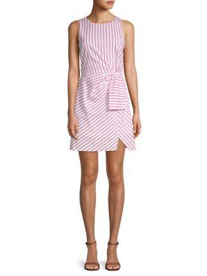 Nsr Striped A-Line Dress