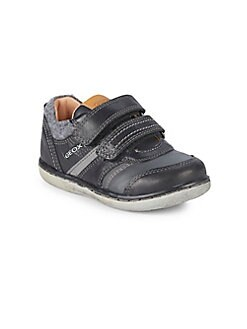 Geox - Baby's & Kid's Stitched Leather Sneakers