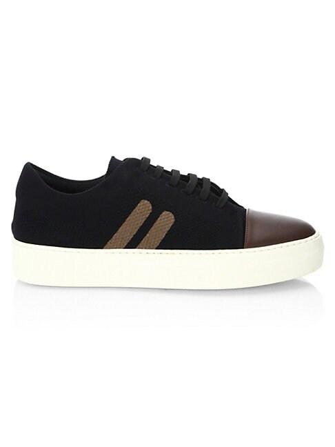 Skateboard Leather Sneakers