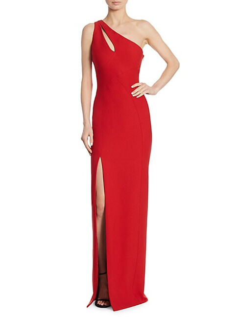 Gianna Jolie One-Shoulder Gown