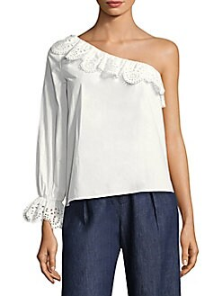 b85fe970c626bd QUICK VIEW. Joie. Arianthe Ruffled One-Shoulder Top