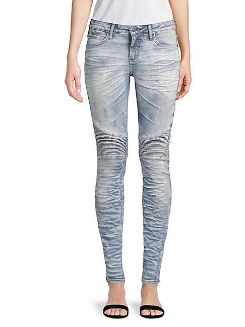 Robin's Jean MOTORCYCLE STRETCH JEANS