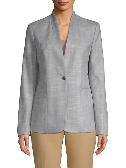 Adara Single-Button Jacket