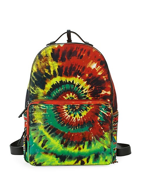 Tie-Dyed Zip Backpack