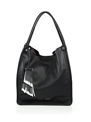 CALFSKIN LEATHER TOTE