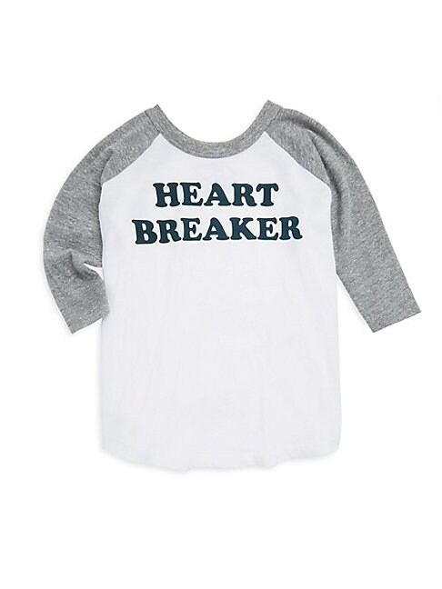 LITTLE BOY'S & BOY'S HEART BREAKER RAGLAN TOP