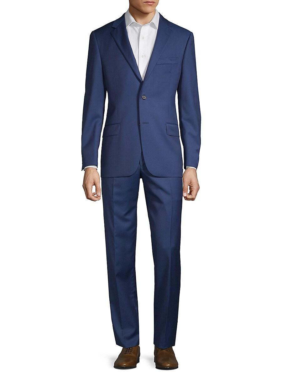 Men's Classic Fit Wool Suit