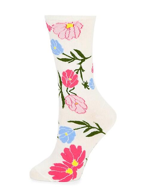 Blossom Crew Socks