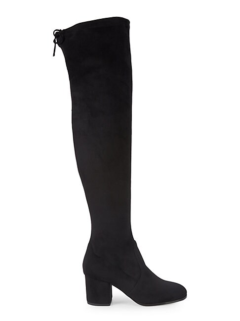 SAKS FIFTH AVENUE | Microsuede Tall Boots | Goxip