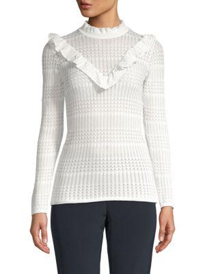 Few Moda Ruffled Stitch Sweater