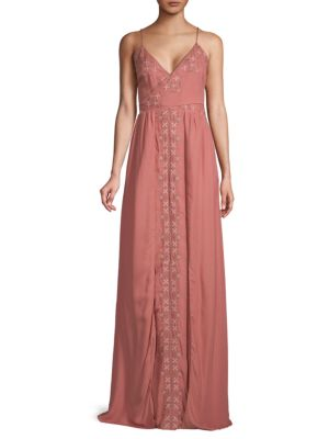 The Jetset Diaries Embroidered Maxi Dress