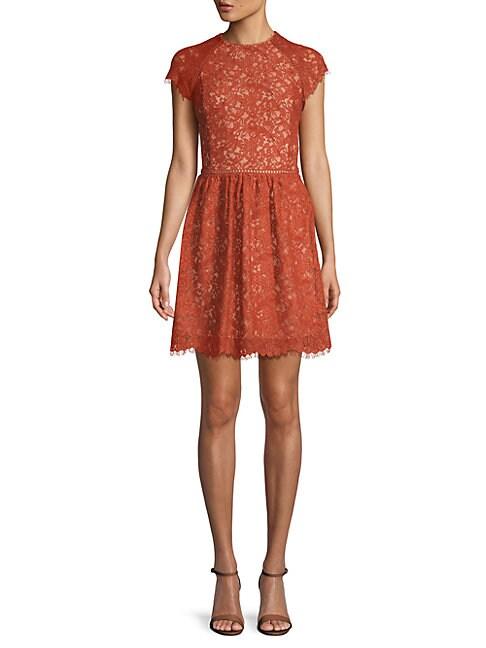 Stylestalker LAYLOR LACE COTTON DRESS