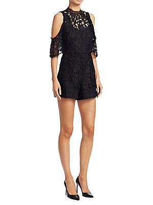 84969c236131 Zimmermann - Printed Folly Neck Tie Silk Romper - saksoff5th.com