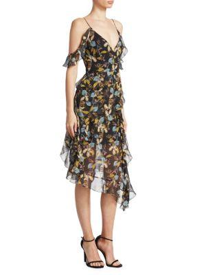 Nicholas Ava Floral Silk Dress